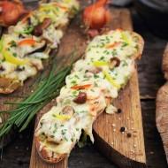 Baghete poloneze cu ciuperci