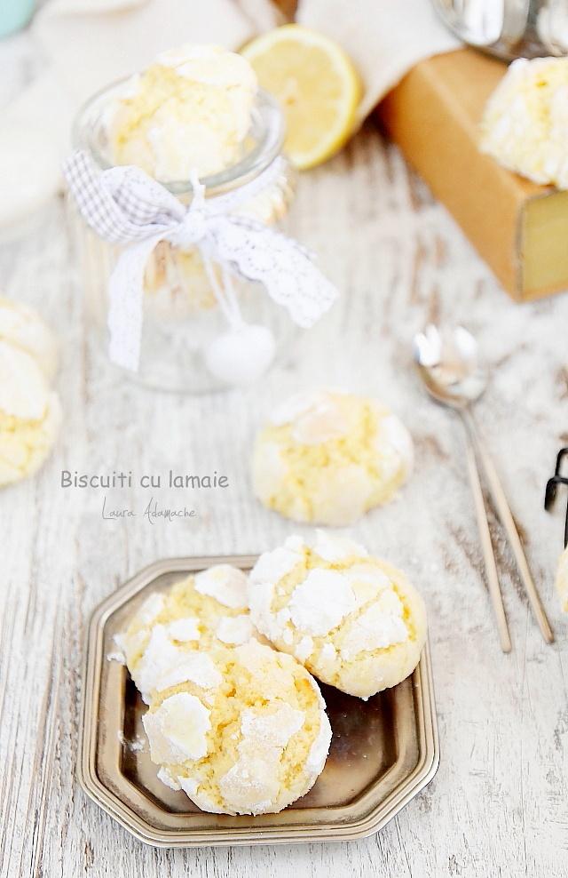 Detaliu biscuiti lamaie