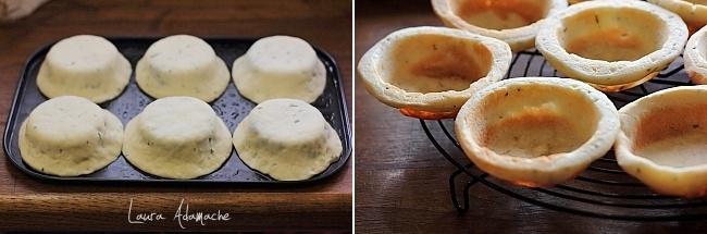 Supa crema de fasole preparare cosulete