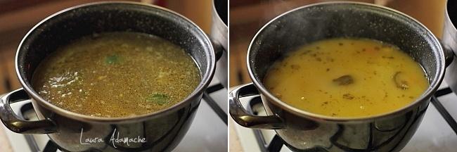 Supa crema de fasole preparare