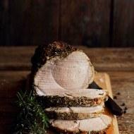 Pulpa de porc cu rozmarin si fenicul