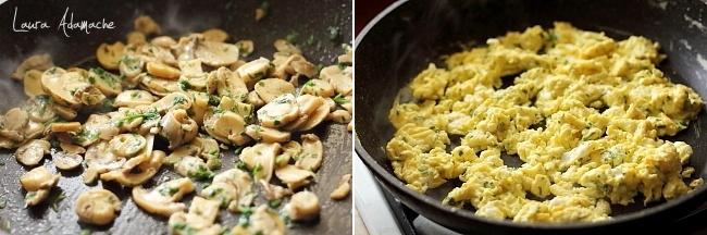 Preparare umplutura chifle mic dejun