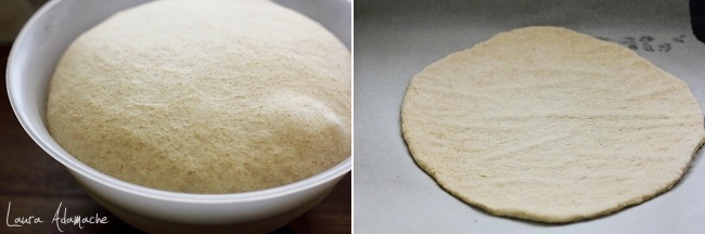 Tort pizza preparare aluat