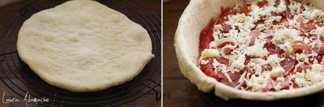 Tort pizza preparare