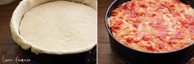 Tort pizza asamblare