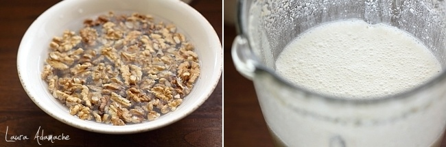Lapte de nuca preparare