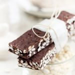 Batoane de ciocolata si orez