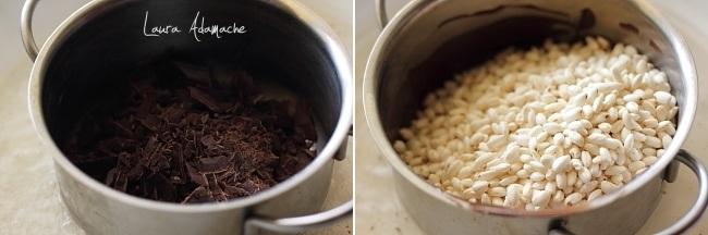 preparare-batoane-ciocolata-orez