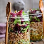 Salata la borcan cu naut si alac