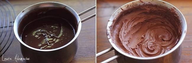 Ganache de ciocolata si tonka - Mod de preparare