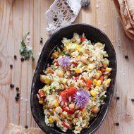 Salata de orez si legume