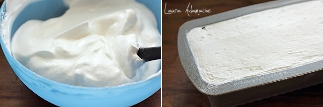 Semifreddo de lamaie preparare