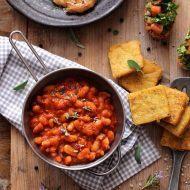 Mancare italiana de fasole