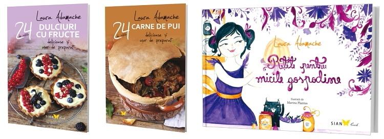 Premii in carti Laura Adamache