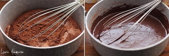 Lichior de ciocolata preparare