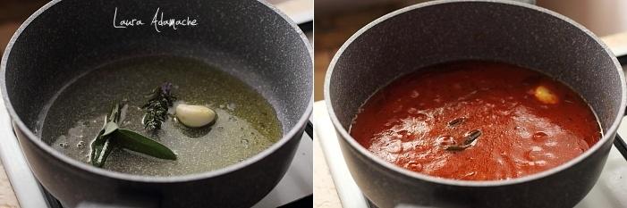 Mancare italiana de fasole preparare