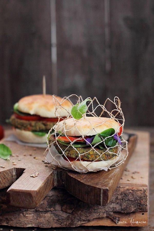 Hamburger cu ton RIO Mare si linte