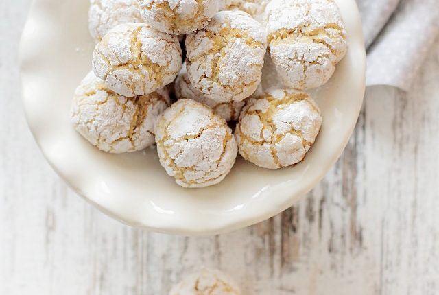 Biscuiti de post cu portocale