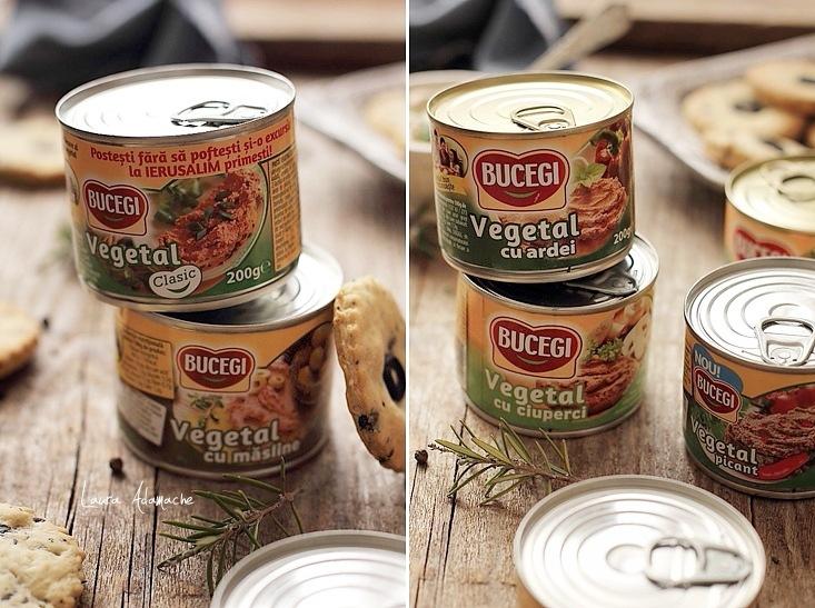 Pate vegetal Bucegi conserve