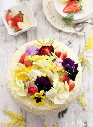 tort mimosa