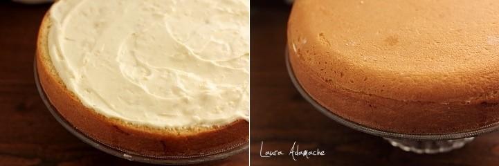Tort Mimoza asamblare tort
