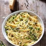 Spaghete Carbonara cu sparanghel – Reteta Video