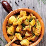 Cartofi taranesti cu ceapa (reteta video)
