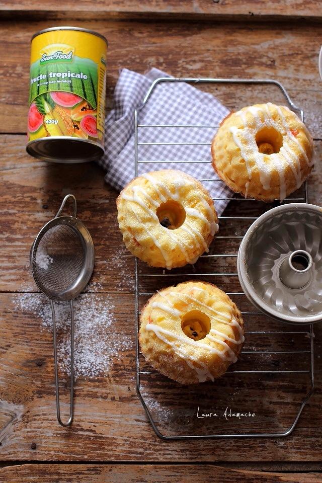prajituri bundt cu fructe tropicale sunfood