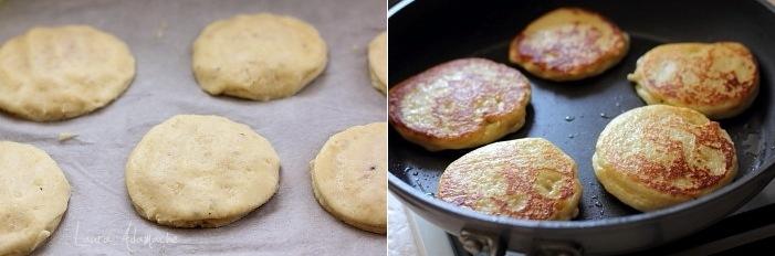 Placinte de cartofi la tigaie fripte