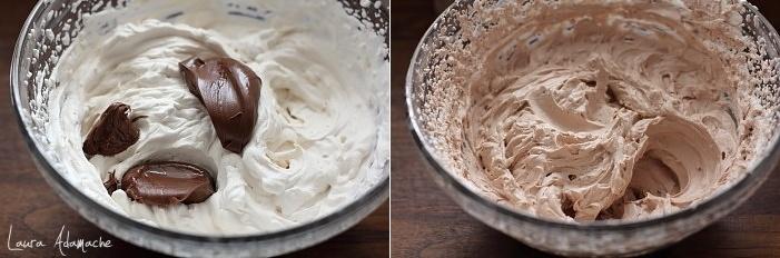 Crema la pahar cu 3 ingrediente preparare