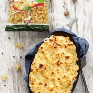 Melci ondulati Mac and Cheese