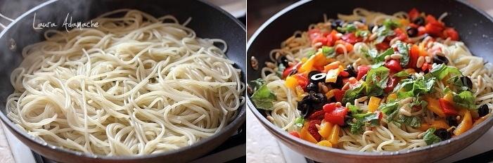 Spaghete Marco Polo preparare