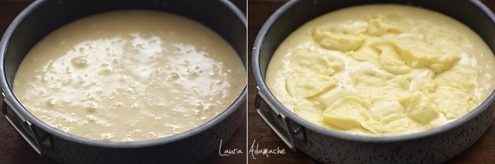 Prajitura cu crema de vanilie si visine preparare