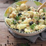 Salata de conopida, ton si masline