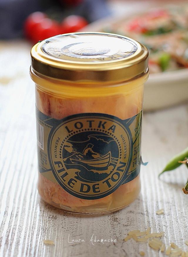 Salata de orez cu ton detaliu Lotka