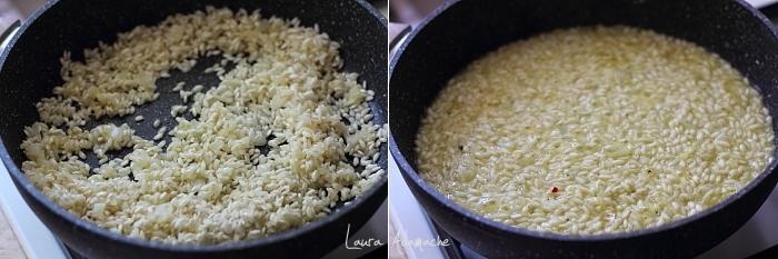 Chiftele de orez cu ton si spanac preparare