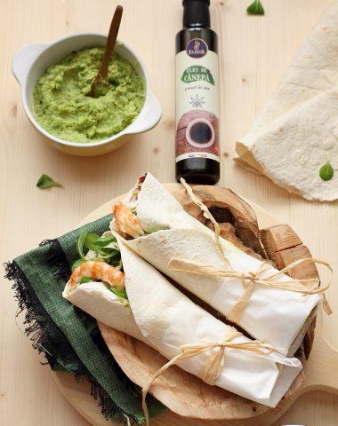 Wraps-humus-mazare