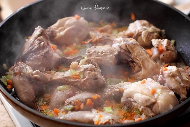 paste cu sos de iepure preparare