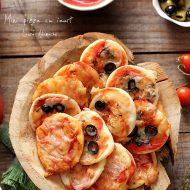Mini pizza cu iaurt