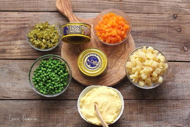 ingrediente salata de ton