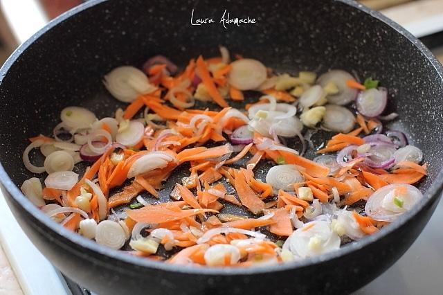 legume sotate pentru macrou