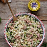 Salata de orez cu dovlecei si ton