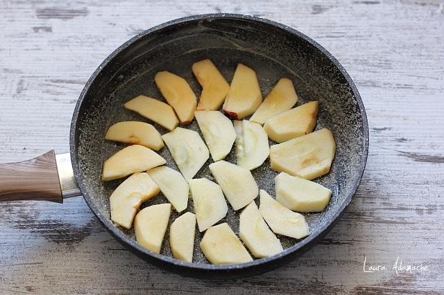 mere pentru prajitura in tigaie
