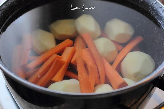 rasol de pastrav legume