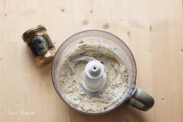 crema de ton pentru choux