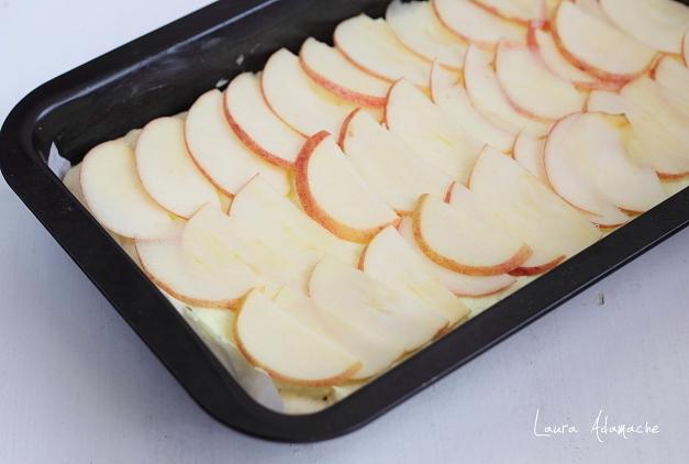 tarta cu mere asamblare