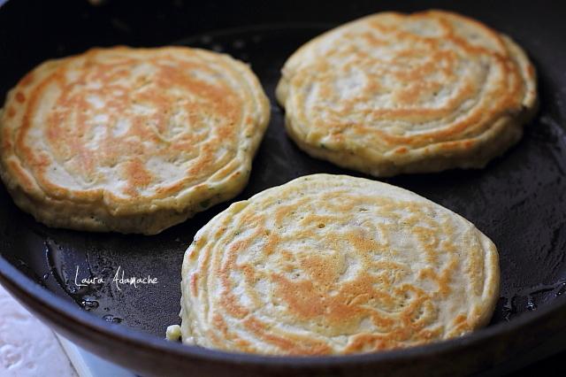 pancakes sarate cu macrou preparare