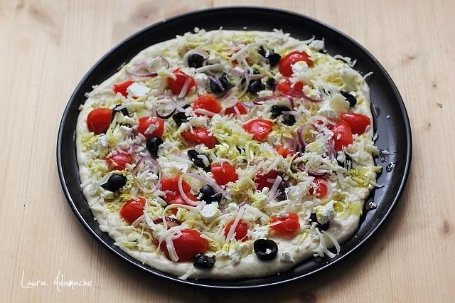 pizza greceasca aluat tava