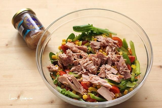 salata mediteraneana cu ton