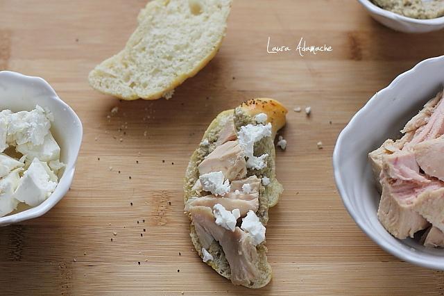 sandvisuri cu ton preparare